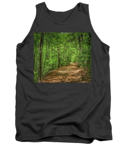 Path Less Travelled - Impressionist Tank Top