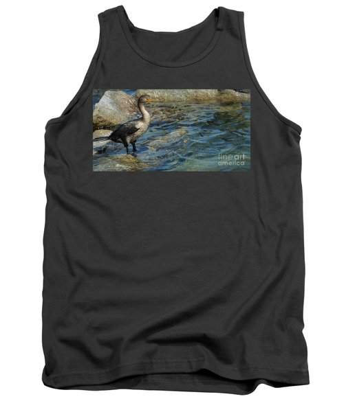 Tank Top featuring the photograph Patiently Waiting by Pamela Blizzard