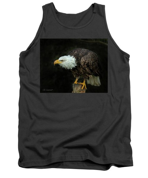 Perched Bald Eagle Tank Top