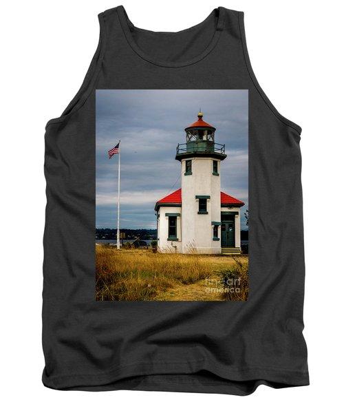 Point Robinson  Lighthouse,vashon Island.wa Tank Top