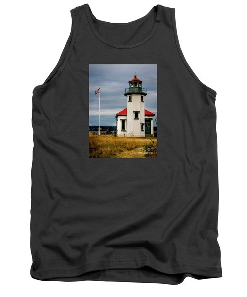 Point Robinson  Lighthouse,vashon Island.wa Tank Top