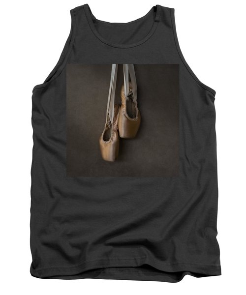 Tank Top featuring the photograph Sacred Pointe Shoes by Laura Fasulo