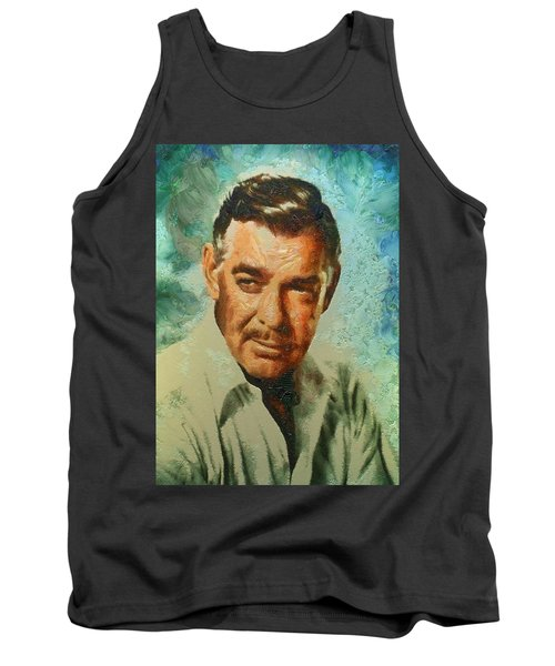 Portrait Of Clark Gable Tank Top