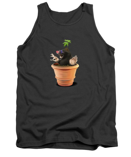 Tank Top featuring the drawing Pot by Rob Snow