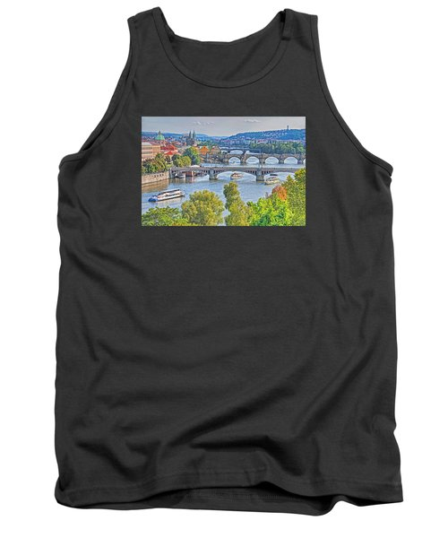 Prague Bridges Tank Top