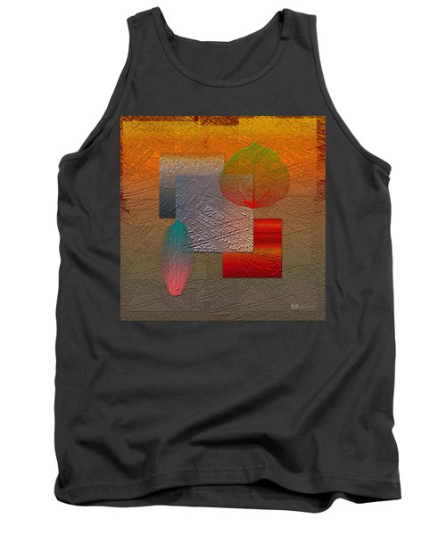 Quiet Sunset At The End Of Northern Summer  Tank Top