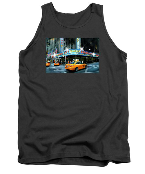 Radio City Tank Top by Diana Angstadt