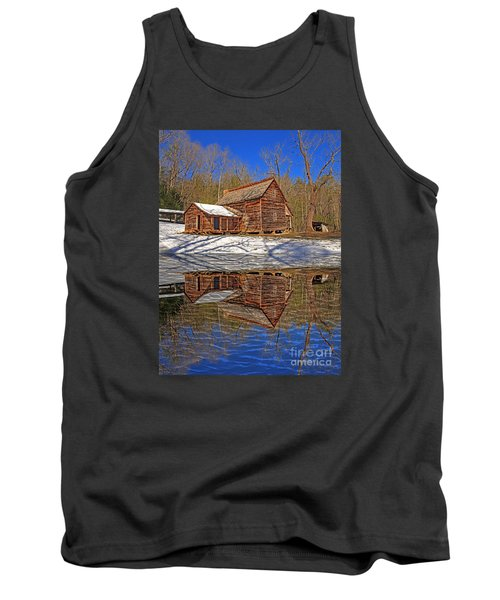 Tank Top featuring the photograph Reflections by Geraldine DeBoer