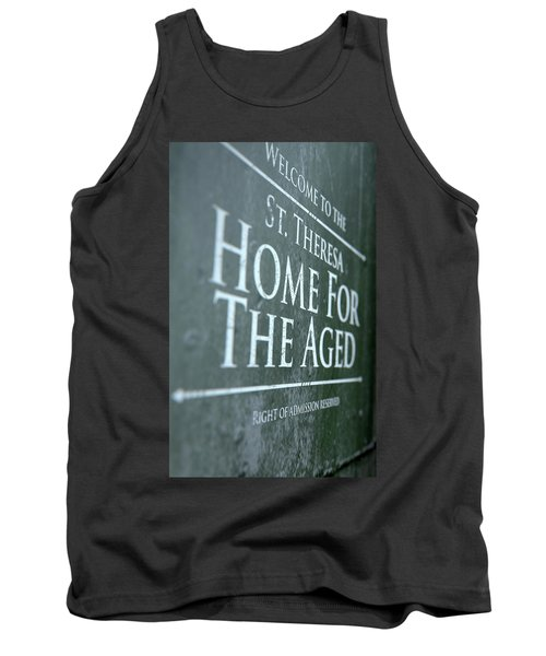 Retirement Home Signage Tank Top