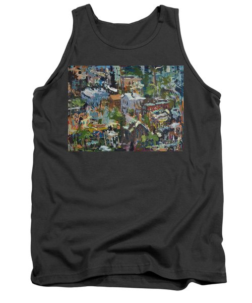 Richmond Virginia Cityscape Painting Tank Top