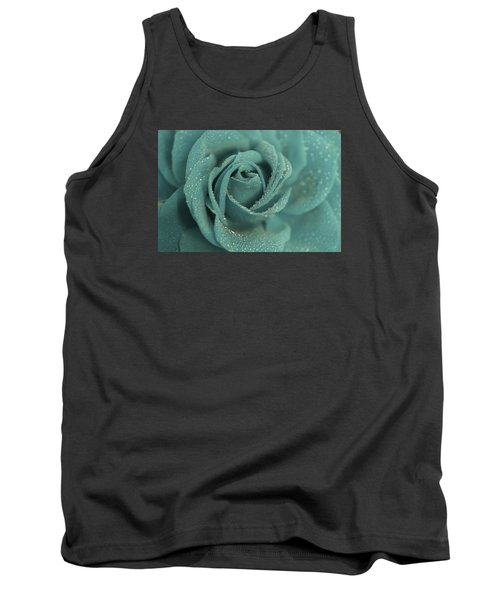 Tank Top featuring the photograph Rose Of Rain by The Art Of Marilyn Ridoutt-Greene