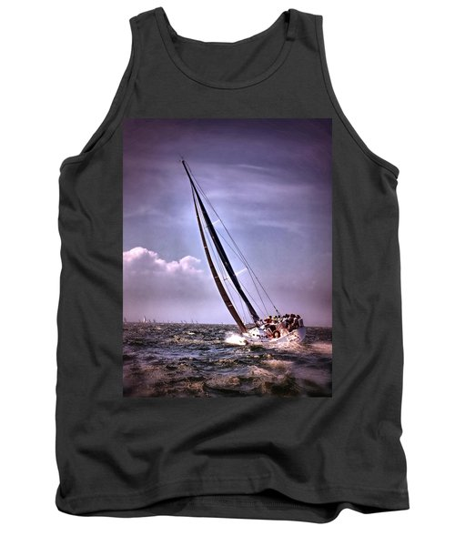 Sailing To Nantucket 003 Tank Top