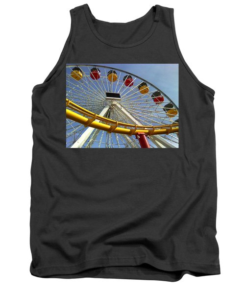 Santa Monica Pier Amusement Park Tank Top