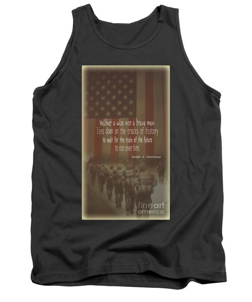 Tank Top featuring the photograph Serving Our Country by Debby Pueschel