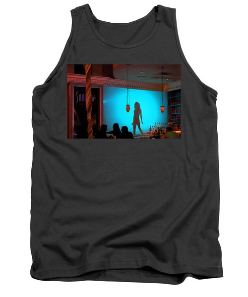 Tank Top featuring the photograph Shadow On The Wall by Viktor Savchenko