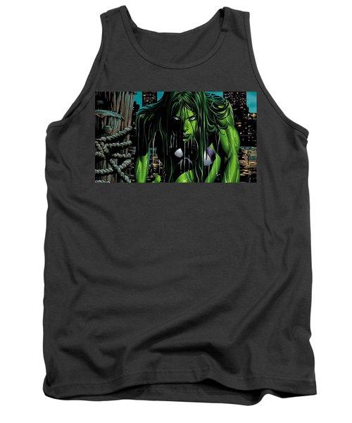 She-hulk Tank Top