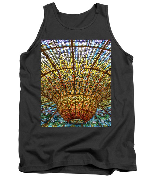 Skylight In Palace Of Catalan Music  Tank Top