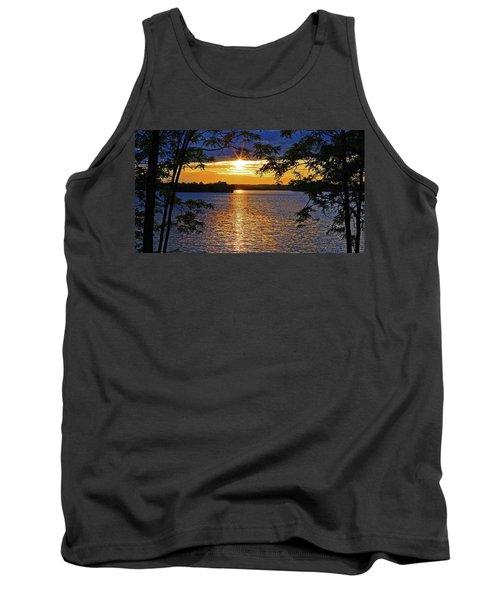 Smith Mountain Lake Summer Sunet Tank Top