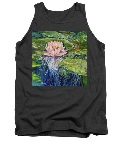 Solitude Waterlily Tank Top by Marcia Baldwin