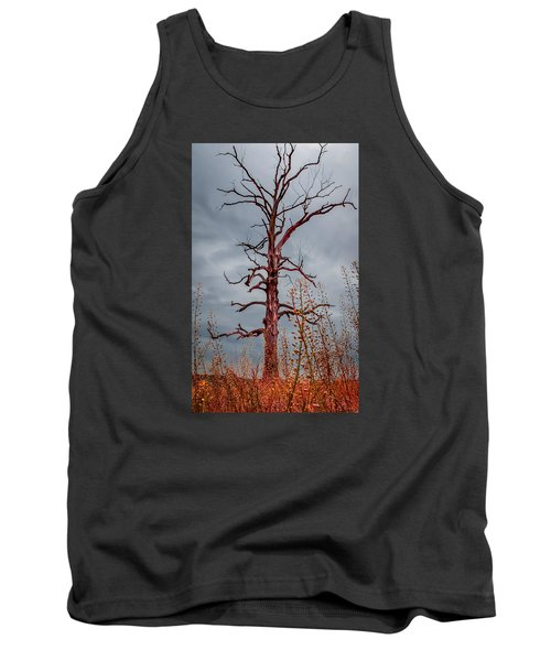 Ominous Tank Top by Wayne King