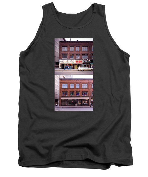 Something's Going On At The Greeting Card Center. Tank Top