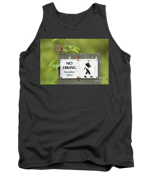 Sparrow Tank Top by Jeannette Hunt