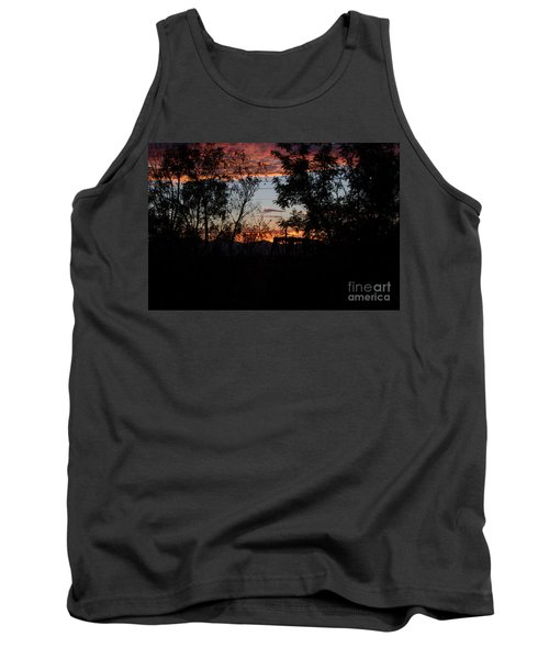 Tank Top featuring the photograph Spectacular Sky by Anne Rodkin