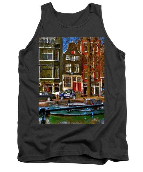 Spiegelgracht 6. Amsterdam Tank Top