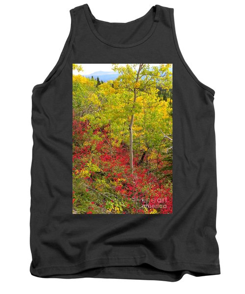 Splash Of Autumn Tank Top