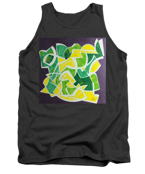 Tank Top featuring the painting Spring by Hang Ho