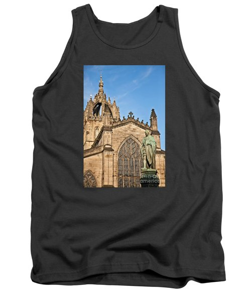 St Giles Cathedral  Edinburgh Tank Top by Liz Leyden