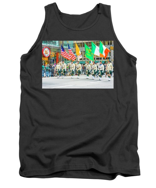 St. Patrick Day Parade In New York Tank Top
