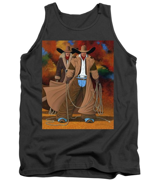 Stand By Your Man Tank Top by Lance Headlee