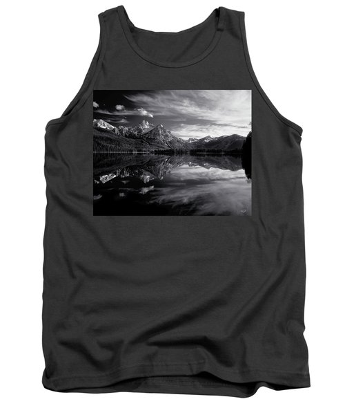 Stanley Lake Tank Top by Leland D Howard