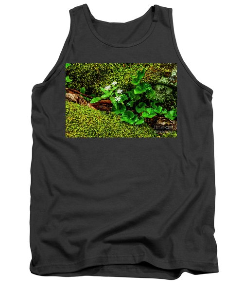 Star Chickweed Mossy Rock Tank Top