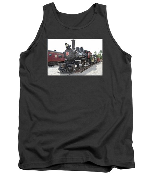 Steam Engline Number 349 Tank Top