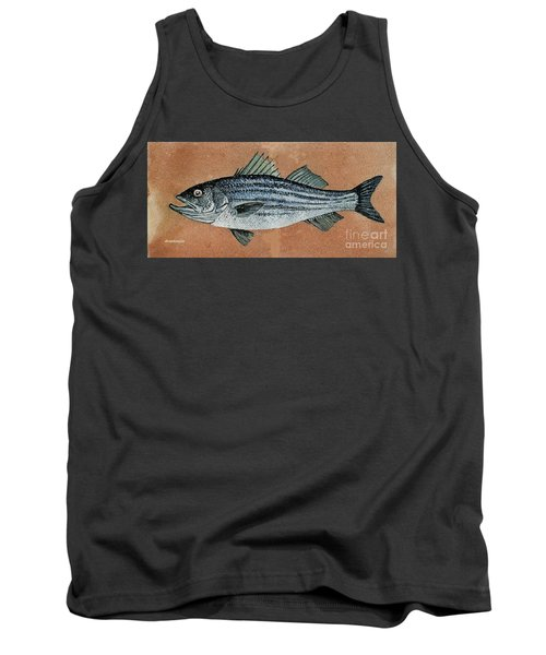 Tank Top featuring the painting Striper by Andrew Drozdowicz