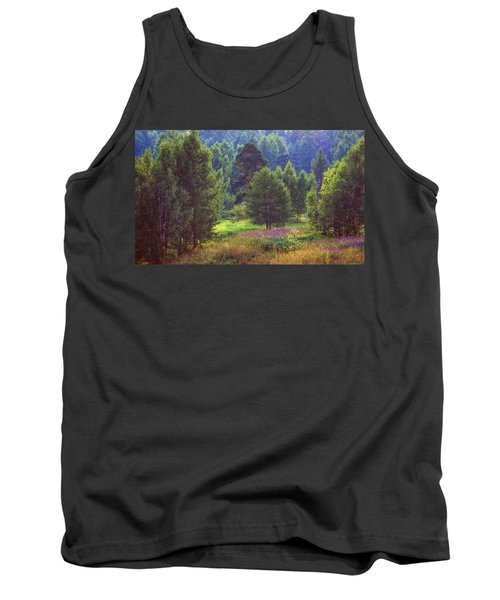 Tank Top featuring the photograph Summer Time by Vladimir Kholostykh