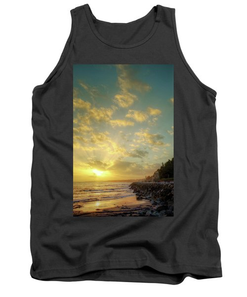 Tank Top featuring the photograph Sunset In The Coast by Carlos Caetano