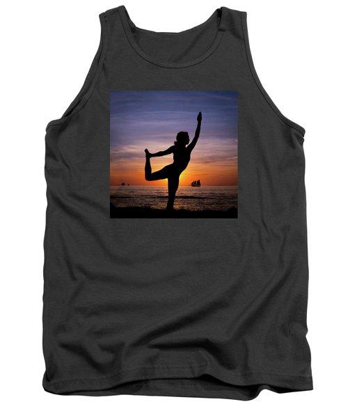 Sunset Yoga Tank Top