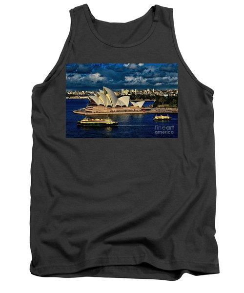 Sydney Opera House Australia Tank Top