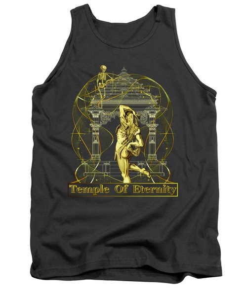 Tank Top featuring the digital art Temple Of Eternity by Robert G Kernodle