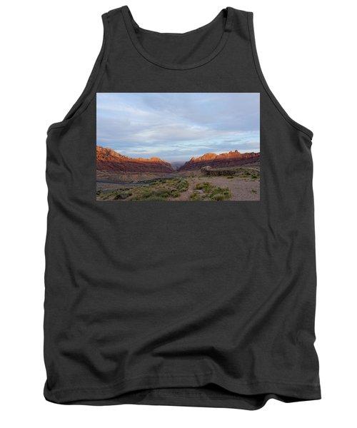 The Castles Near Green River Utah Tank Top