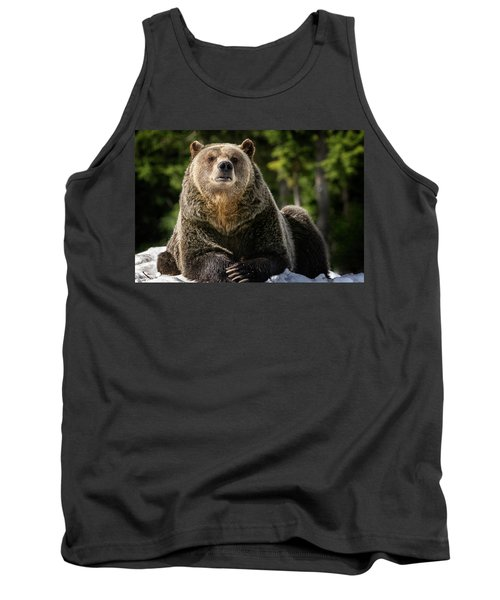The Grizzly Bear Grinder Tank Top