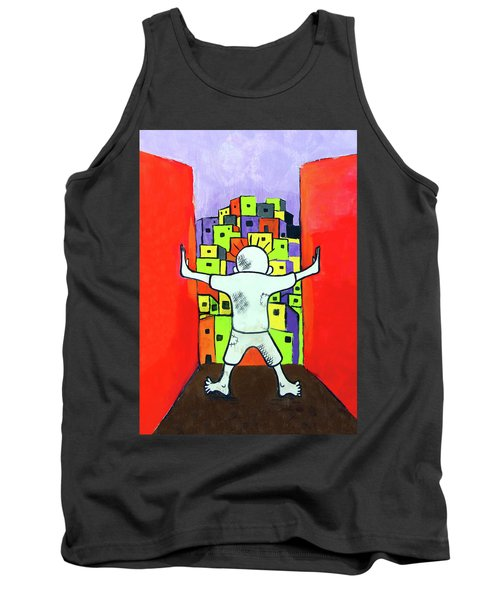 Tank Top featuring the photograph The Man by Munir Alawi