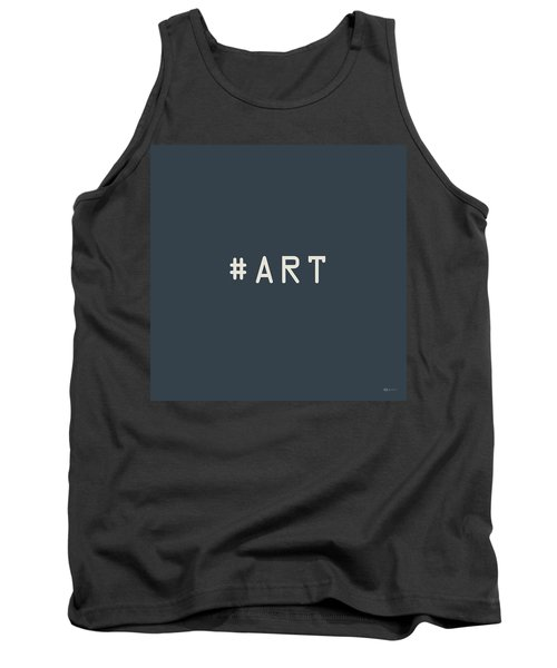 The Meaning Of Art - Hashtag Tank Top