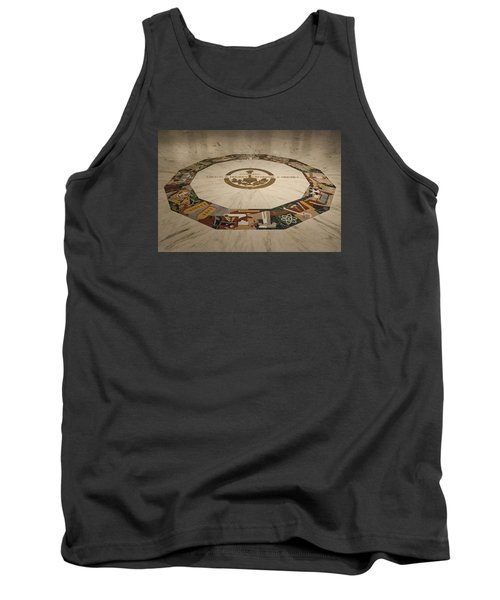Tank Top featuring the photograph The Mural by Mark Dodd