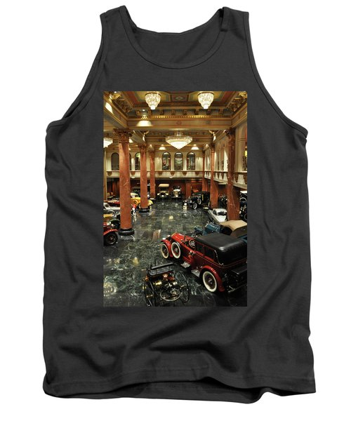 Grand Salon At The Nethercutt Tank Top by Kyle Hanson
