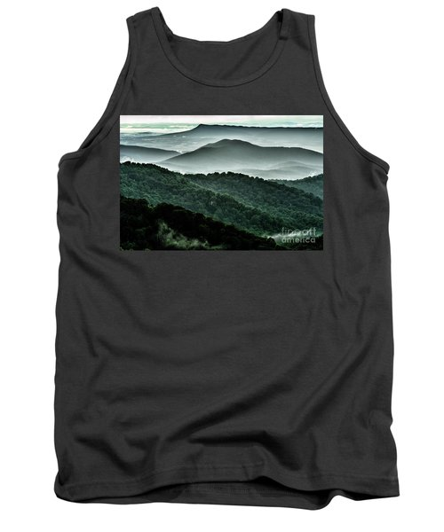 The Point Overlook Tank Top by Thomas R Fletcher