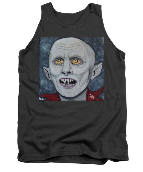 The Politician. Tank Top by Ken Zabel